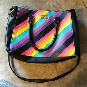Luv Betsey bag rainbow colors new condition